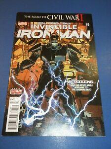 Invincible Iron Man #9 1st Iron Heart Hot Key NM-/NM Gem Wow