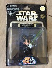 Mickey Mouse as Luke Skywalker Star  Wars Action Figure Jedi Knight