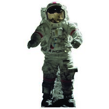 H69303 Astronaut 3 Cardboard Cutout Standup