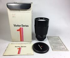 Vivitar Series 1 Auto Telephoto 200mm f3.0 lens, M42 screw mount ex condition