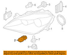 BMW OEM 11-16 X3 Headlight Head light lamp-Control Module 63117263051