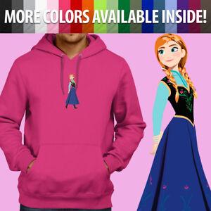 Pullover Sweatshirt Hoodie Sweater Unisex Gift Cute Princess Anna Arendelle