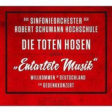 """""""Entartete Musik"""": Willkommen in Deutschland - Ein Gedenkkonzert by Die Toten Hosen/Das Sinfonieorchester Der Robert Schumann Hochschule (CD, Oct-2015)"""