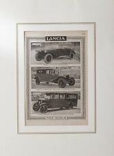 Pubblicità Originale Auto Lancia Torpedo Weymann Autobus Gomme Pirelli.