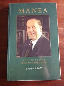 Manea. The Story Of A Remarkable Life. Baden Pratt. True Story