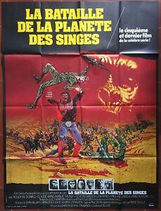 Poster The Battle de La Planet Of Apes Claude Akins Roddy Mcdowall 120x160