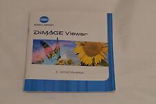 Konica Minolta Dimage Viewer Instruction Manual Guide software (EN) 9216005