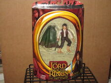 2002 LORD RINGS TWO TOWERS FRODO LIGHT-UP STING SWORD ACTION FIGURE MIP