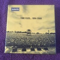 Oasis Time Flies .1994-2009 Deluxe CD Boxset 3 CDs + 1 DVD. As New Condition👍🌟