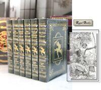 TARZAN OF THE APES SERIES - Easton Press - Edgar Rice Burroughs SEALED
