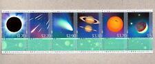 Hong Kong 2015 Astronomical Phenomena Space Se-tenant Stamps Moon Planet 天文現象