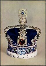 Imperial State Crown Of Queen Mary Royalty Postcard #C47260