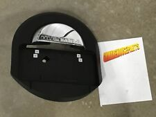 2005-2009 HUMMER H2 BLACK AND CHROME REAR SPARE TIRE COVER NEW GM 25782333