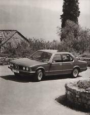 BMW 7-Series (E23) Large Format Period Press Photograph - 1977