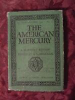 AMERICAN MERCURY October 1929 LEWIS MUMFORD H L MENCKEN