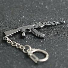 Sniper Rifle Pistol AK47 Weapon Gun Model Metal Keyring Keychain Bag Useful
