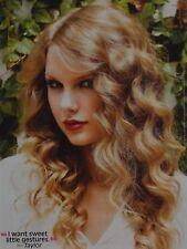 TAYLOR SWIFT - A4 Poster (ca. 20 x 27 cm) - Fan Sammlung Clippings Ausland USA