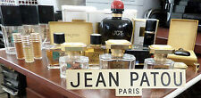 JOY JEAN PATOU 26PIECES 65-YEARS  COLLECTION OF RARE EMPTY  BOTTLES,BOXES,SIGN *