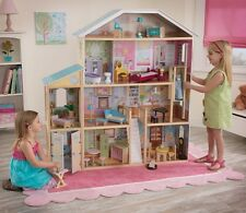 KIDKRAFT MAJESTIC MANSION DOLL HOUSE DOLLHOUSE KIDS PRETEND PLAY TOY