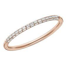 Retired Domino Rose Gold Bangle Size Medium Swarovski Jewelry Retired 5166706