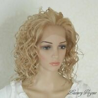 Handsewn Synthetic FULL LACE FRONT Wigs 9155#613M27