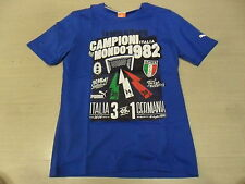 1295 TG S ITALIA ITALY T-SHIRT CELEBRATIVA MONDIALI 1982 MAGLIA MAGLIETTA JERSEY