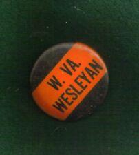 W. VA. WESLEYAN  BUTTON-PIN VINTAGE 1 3/4