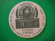 Beer Bar Coaster ~ THIRD STREET Aleworks Restaurant & Brewery, Santa Rosa, CALIF