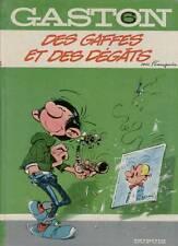 Franquin: Gaston tome 6. Des gaffes et des dégâts. EO (1968)