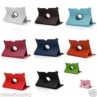 """Leather Rotating 360° Stand Case Cover For Samsung Galaxy Tab P7510/P7500 10.1"""""""