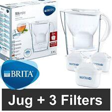 Brita Marella Cool Maxtra+ Plus 2.4l Filtre à Eau Pichet+3 Mois CARTOUCHES Pack