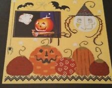 WITCH'S MOON CROSS STITCH CHART, CRICKET COLLECTION