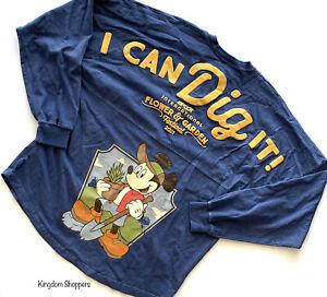 2021 Disney Parks Flower & Garden Mickey Pluto Passholder Spirit Jersey XL