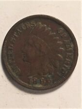 1896 US Indian Head 1 Cent (b)