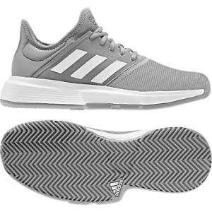 Adidas Gamecourt W Tennis Shoes Women's Sports Allcourt Sand Grass Grey/White