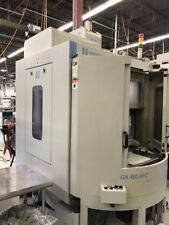 Used Hardinge GX 480 APC CNC Vertical Machining Center Mill w Pallet Changer '11