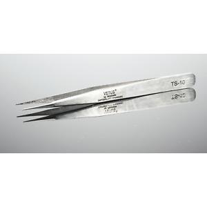Vetus Stainless Steel Fine Tip TS-10 Tweezers