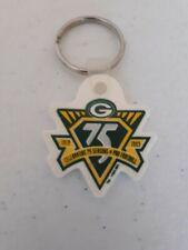 Vintage 1993 Green Bay Packers 75th Anniversary Keychain Brett Favre #4