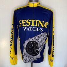FESTINA WATCHES Cycling Jersey Mens 44 XXL Long Sleeve 50 Fashion Biker Zipper