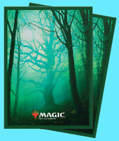 100 ULTRA PRO MAGIC THE GATHERING UNSTABLE LANDS FOREST DECK PROTECTOR Sleeves