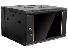 iStarUsa Wmz655-Kbr1U 6U 550mm Depth Swing-out Wallmount Server Cabinet with 1U