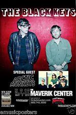 BLACK KEYS /ARCTIC MONKEYS 2012 SALT LAKE CITY CONCERT TOUR POSTER - Group Shots