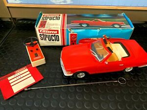 Vintage RC Car CARRERA STRUCTO 90220 Mercedes 350SL 4 channels 1:12 scale