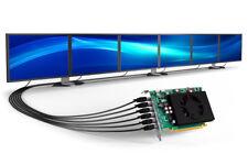 MATROX C680 E2GBF 2GB 16x PCI-E 6x mDP Low Profile Business Grafik Karte TOP/OVP