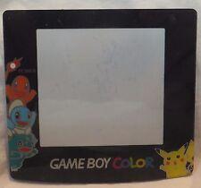 Game Boy Color (GBC) Screen Protector (Lens)- Pokemon/Pikachu Silver/Gold [4C,L]