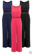 Chiffon Solid Jumpsuits, Rompers & Playsuits for Women