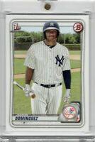 2020 Topps Bowman Paper Jasson Dominguez 1st Bowman New York Yankees #1 Prospect