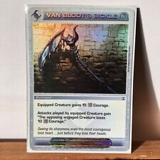 Chaotic Card - Super Rare - Van Bloot's Sickle *I Combine Shipping*