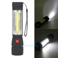 Outdoor COB LED Light Inspection Work Light Magnetic Torch Flashlight Home Lamp