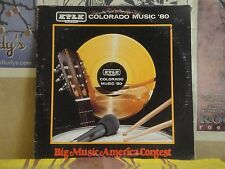 KTLK COLORADO MUSIC '80 BIG MUSIC AMERICA CONTEST - LP BMC-80104 LIVE WIRE CHOIR